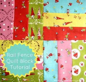 Rail Fence Quilt Block Tutorial | patchwork posse #quiltblock #tutorial #freepattern