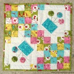 Spring blossoms quilt tutorial | patchwork posse #yoyo #quiltblock