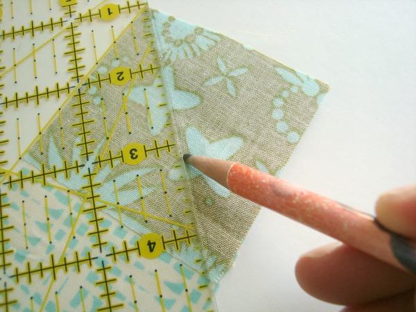 corner triangle quilt sashing