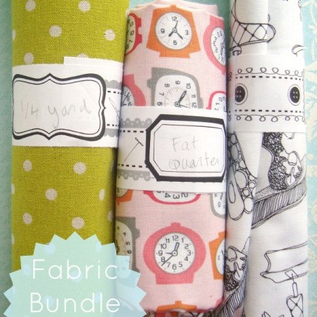 organize your fabric with fabric bundle warp printables 3 designs | patchworkposse #printable #fatquarter