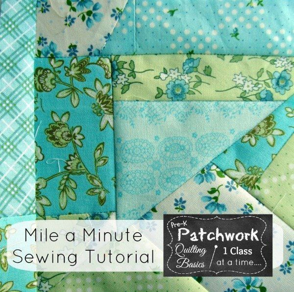 mile a minute tutorial   patchwork posse #quilting #sewing #tutorial