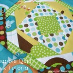 pineapple quilt block tutorial | patchworkposse #quiltblock #freepattern