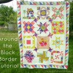 round robin border tutorial | patchwork posse