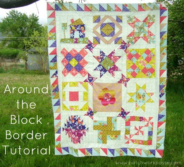 round robin border tutorial | patchwork posse