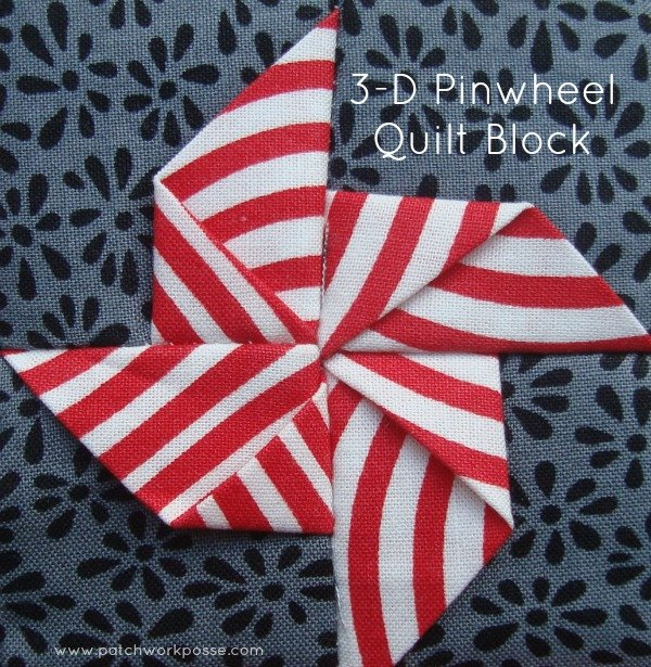 3-Dimensional Bow Tie Quilt Block - : easy bow tie quilt block pattern - Adamdwight.com