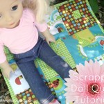 Scrappy Doll Quilt Tutorial