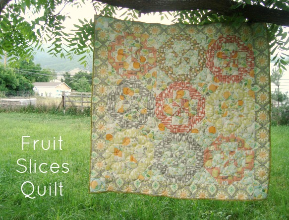 fruit slices quilt