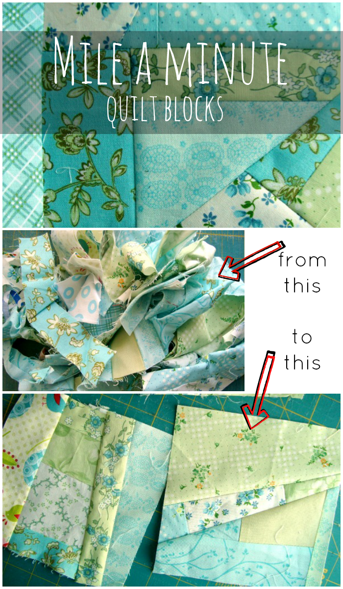 mile a minute quilt blocks how to sew this technique and use your fabric scraps