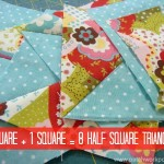 8 half square triangles tutorial | patchworkposse | easy sewing projects and free quilt patterns