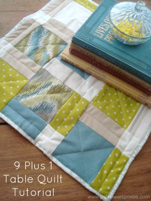 9 Plus 1 Quilt Tutorial | patchwork posse |easy sewing projects and free quilt patterns