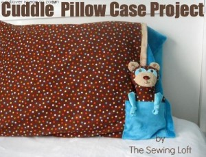 Bear and Pillowcase