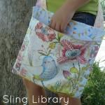 Sling Library Bag Tutorial