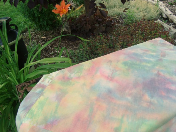 tie dye blanket tutorial   patchworkposse   easy sewing projects and free quilt patterns