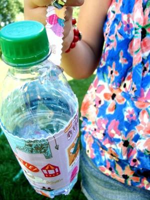 water bottle carrier tutorial