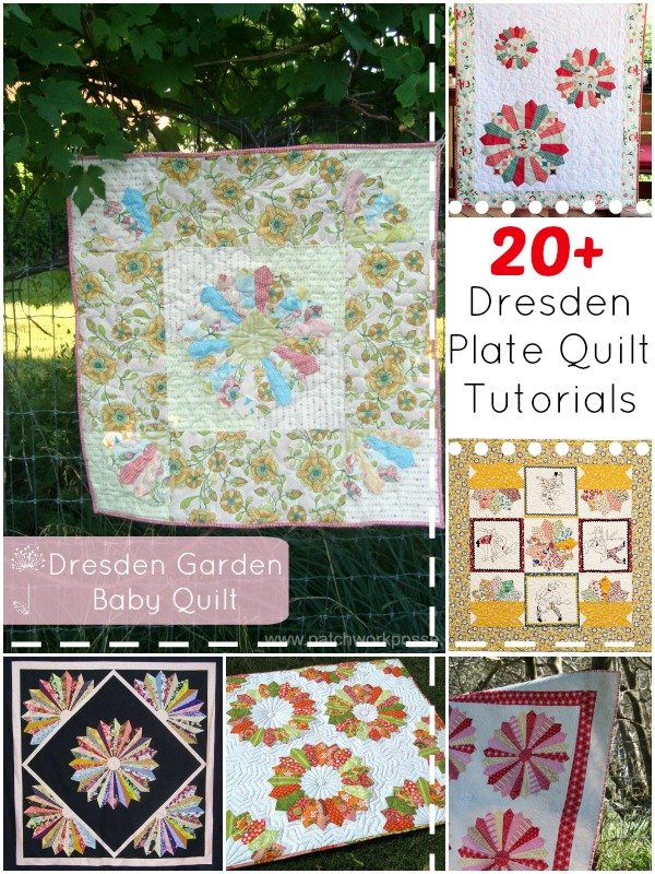 10 More Dresden Plate Quilt Patterns