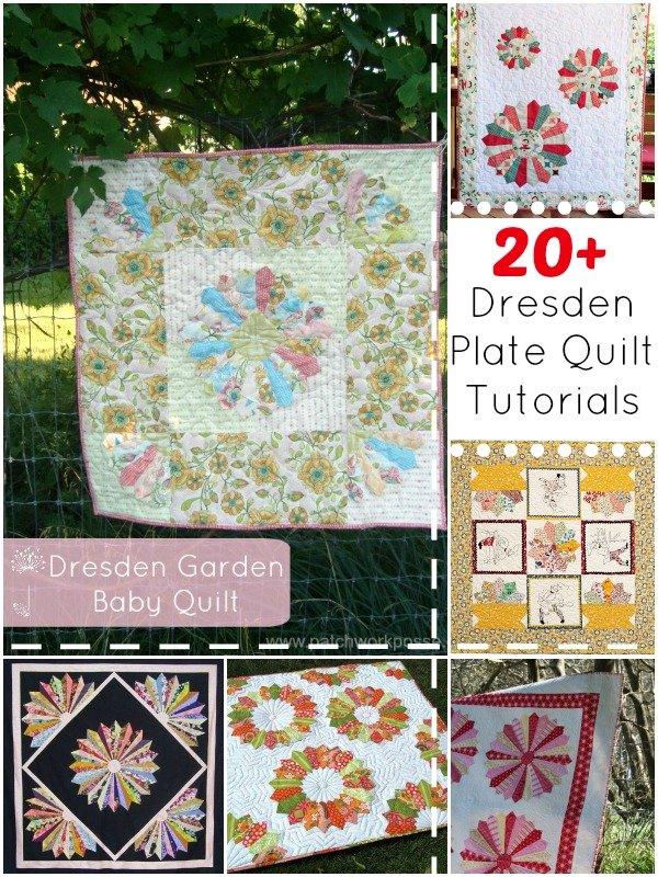 20+ Dresden Plate Quilt Patterns