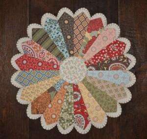 Over 20 Dresden Plate Quilt Patterns