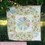dresden baby quilt- dresden gardens | patchwork posse |easy sewing projects and free quilt patterns