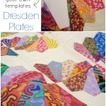 dresden plate how to make your own template  patchworkposse   easy sewing projects and free quilt tutorials