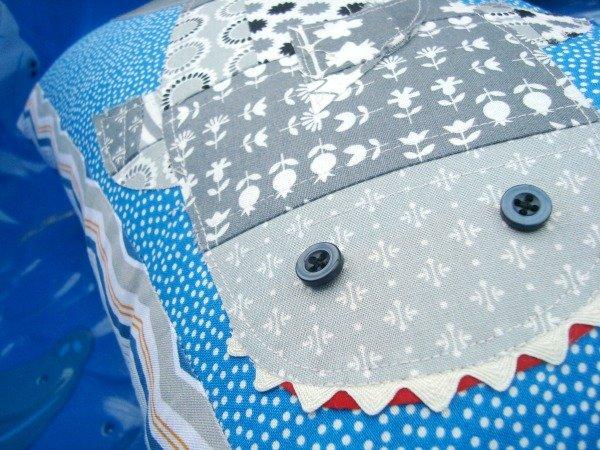 Shark Pillow Tutorial