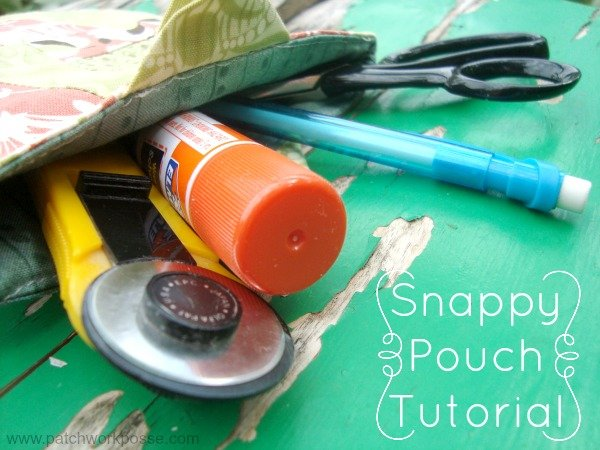 Snappy Pouch Tutorial