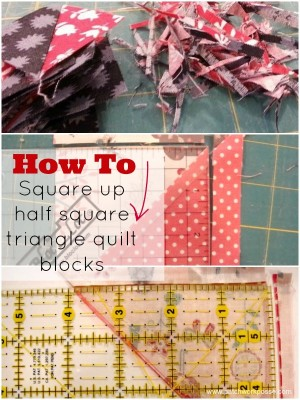square up your half square triangle quilt block   patchwork posse   easy sewing projects