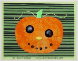 Pumpkin-placemat