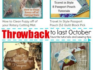 Throwback to October 2013- Favorite tutorials and sewing tips | patchwork posse