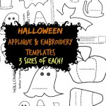 Halloween Applique Designs & Templates