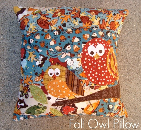 Make An Owl Fall Pillow With This Quick And Easy Tutorial!