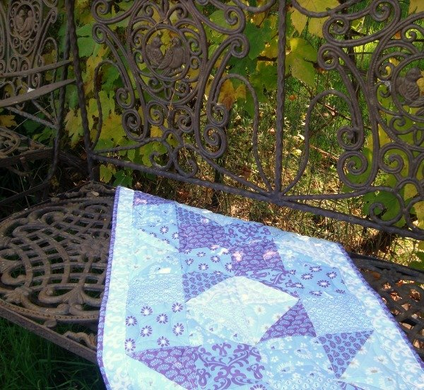 Chunky Wheel Table Runner Tutorial