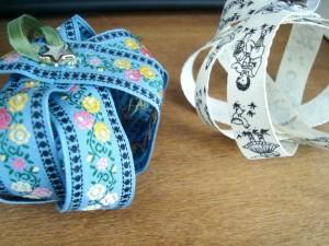 handmade christmas ribbon ornament