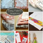 8 Simple and Quick Fabric Napkins for Any Time of Year