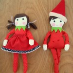 elf on the shelf -free pattern | patchwork posse #elfontheshelf #freepattern #christmas