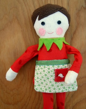 elf on the shelf apron and skirt | patchwork posse | #elfontheshelf #christmas