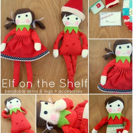 elf on the shelf -free pattern   patchwork posse #elfontheshelf #freepattern #christmas