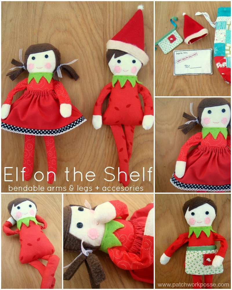 Free Knitting Patterns For Elf On The Shelf Clothes : Free elf on the shelf doll pattern