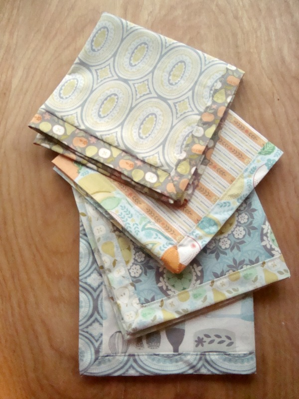 napkin tutorial | patchworkposse #holiday #napkin #diy