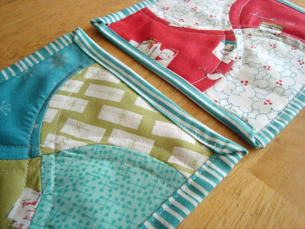 apple core mug rug tutorial   patchwork posse #easysewingproject #mugrug #freepattern