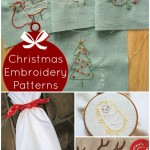 free christmas embroidery designs | PatchworkPosse #embroiderydesigns #freepatterns #christmas #holiday