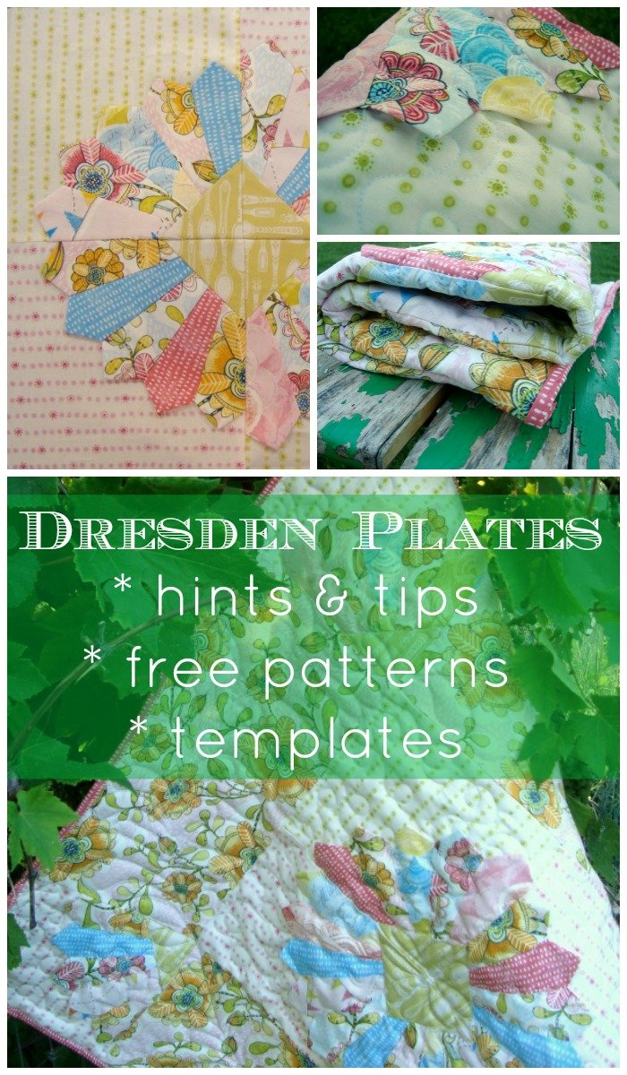 dresden plate | hints, tips, patterns, templates | PatchworkPosse #dresdenplate #quilting #freepattern