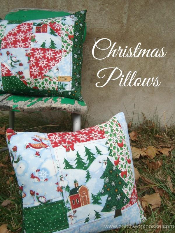 pillowsforchristmas
