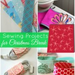 sewing projects for christmas break  PatchworkPosse #sewingproject #quilt