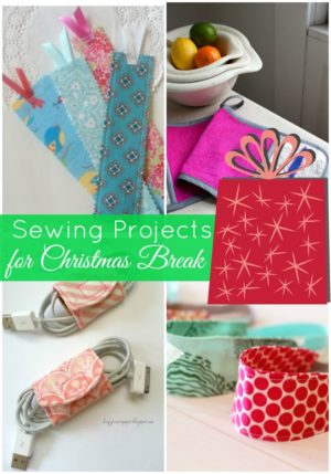 sewing projects for christmas break| PatchworkPosse #sewingproject #quilt