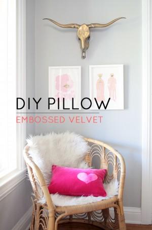 DIY-Embossed-Pillow