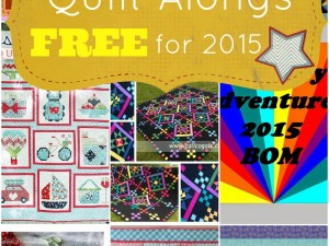 Free Quilt Alongs for 2015 | PatchworkPosse #quiltalong #freepattern #tutorial #sewing Learn a new technique or sew along with others. Great for beginners!