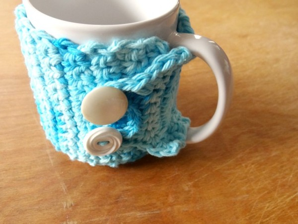 crochet mug sleeve tutorial