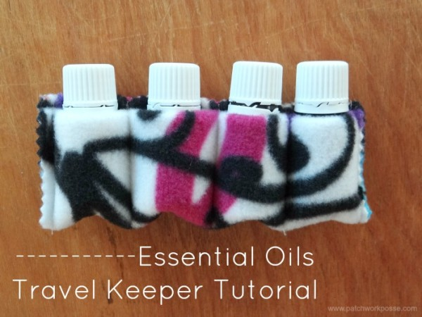 essential oils soft pouch travel keeper tutorial