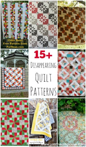 free disappearing quilt patterns
