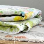 Vintage Hankies Baby Quilt Pattern